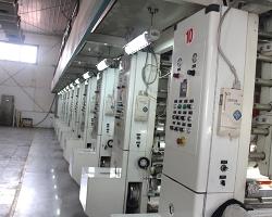 陕西北人八色电脑高速印刷机